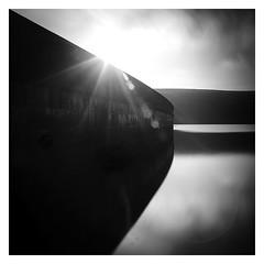 That Dam Wall (picturedevon.co.uk) Tags: dartmoor nationalpark devon england unitedkingdom bnw mono long exposure fineartphotography blackandwhite outdoors countryside bw le avon dam water reflections reservoir lensflare sunshine minimalist sky clouds
