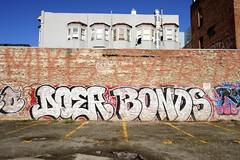DOER, BONDS (STILSAYN) Tags: california graffiti oakland bay east area bonds 2014 doer