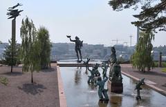 Millesgrden (AyaxAcme) Tags: museum europa europe sweden stockholm schweden sverige museo scandinavia hdr estocolmo stoccolma suecia liding museet millesgrden carlmilles skulpturen photomatix escandinavia olgamilles tonemapped skulpturpark eos60d stockholmcard hdrworldsweden