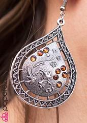 5th Avenue Brown Earrings K2 P5312-1