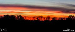 Sun- November 2, 2014 (zachary.locks) Tags: trees sky panorama sun beautiful sunrise landscape wv westvirginia sihouette cy365 zlocks