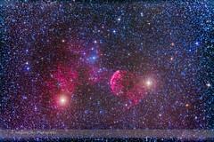 IC 443 Supernova Remnant in Gemini (Amazing Sky Photography) Tags: nebula gemini ic443 propus reflectionnebula emissionnebula supernovaremnant jellyfishnebula etageminorum tejatposterior collinder89 mugeminorum