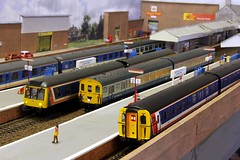 2015_22_01-18 (jonf45 - 2.5 million views-Thank you) Tags: scale set train layout model br 4 rail railway class emu 423 british network bachmann southeast moor oo gauge hornby 108 nse langford 416 dmu vep 3588 heljan 2epb 4vep
