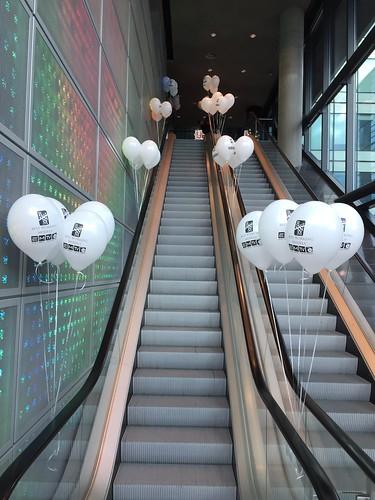 Heliumballonnen Bedrukt Eye Media TV Amsterdam