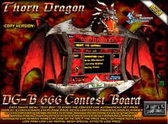 DG-B 666 Contest Board (.*Daffy Proto*.) Tags: party music game club radio code stream dj dragon gothic contest competition medieval system host event entertainment secondlife commercial customer marketplace manager schedule tipjar contestant