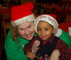 Patty Joyce and Her Grandson Logan