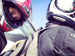 b318 (no_penetrate) Tags: girl helmet moto balaclava