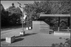 Campo de concentracin de Dachau (Caesar BH) Tags: bw paisajes history blancoynegro horizontal germany landscapes wwii worldwarii alemania dachau historia panormicas panoramics segundaguerramundial campodeconcentracin