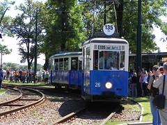 Konstal N+ND, #36+538, MPK Krakw (transport131) Tags: n tram krakw cracow mpk tramwaj konstal