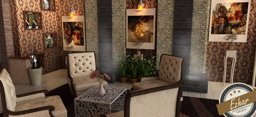 INTERIOR TANJUNGBIDARA BEACH RESORT Ezharmansor Tags Design 3d Interior Render Malaysia Sketchup