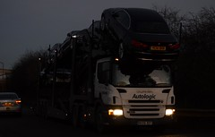 Stobart/ Autologic WX06 BDY at Kirk Sandall 6/2/15 (CraigPatrick24) Tags: road cars car truck cab transport lorry delivery vehicle trailer transporter scania logistics doncaster cartransporter stobart eddiestobart kirksandall autologic scaniap420 stobartgroup wx06bdy kirksandalldoncaster