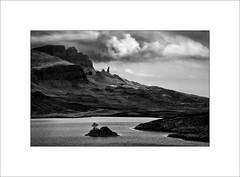 Old Man of Storr (tkimages2011) Tags: old man skye mono scotland highlands monochromatic oldmanofstorr storr