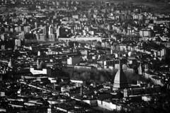 Monocentrismo - Monocentrism. (sinetempore) Tags: homes blackandwhite torino cathedral case duomo turin biancoenero moleantonelliana palazzoreale piazzavittorio monocentrismo monocentrism