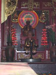 Christmas Light Buddha in Ho Chi Minh City