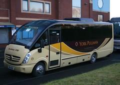 YP14BUS   York Pullman (highlandreiver) Tags: park york bus buses club mercedes benz football coach united cumbria pullman cheetah fc carlisle coaches brunton plaxton yp14bus