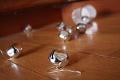 a noisy spill (TheFairView) Tags: bells silver jinglebells