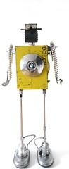 BMW: deutsche qualitt (gille monte ruici) Tags: art metal robot assemblage creation bmw foundobjects recycling maker bots doityourself robotssculpture recycledmetalart detalhesemferro junkrobot foundartrobot homemaderobots gillemonteruici recycledassemblage