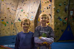 Boys at Rockreation (cteselle) Tags: nathan luke climbing scouts rockreation