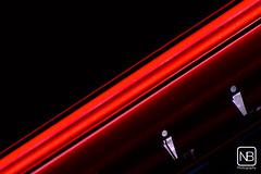 Red Line - 2 (Baeske) Tags: dark rood kleuren verlichting architecturalelement anthonyduffeleer darkbe gebouwenplaatsen personenorganisaties architectuurelementen