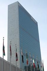 United Nations HQ (Elentari86) Tags: newyorkcity usa newyork building america manhattan flags un american unitednations unplaza december2014 january2015