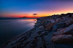 Sea Side Park-Bridgeport-CT_12142014-6 (Simmo1342) Tags: blue sea sky beach water clouds america landscapes sand rocks seascapes parks hour northamerica goldenhour stateparks bridgeportct sunsetphotogarphy seasideparkct