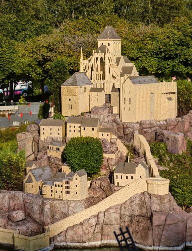 Legoland Windsor - Mini Land - Mount Saint Michel 2