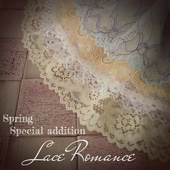 Hi guys!  This weekend I'm working on five special Lace Romance dresses. They will be available in my little shop next week,  Stay tuned ❤