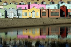 Venetina reflection.IMGP2259r (candysantacruz) Tags: beach water reflections capitola venetians scphoto