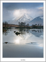 Winter at Lochan na h-Achlaise (flatfoot471) Tags: winter rural landscape scotland rannochmoor highlandsislands blackmount lochannahachlaise highlandislands