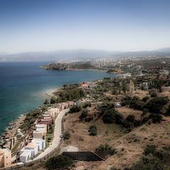 Agios Nikolaos Crete (vale0065) Tags: city sea canon island coast village view kreta zee greece coastal crete 5d areal isle stad dorp eiland markii kust griekenland nikolaos agiosnicolaos aghios