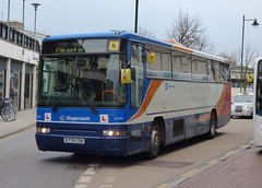 Stagecoach East Kent 52498 (R778 CDW) Canterbury 9/3/15 (jmupton2000) Tags: uk bus training volvo kent coach south east driver premiere interurban trainer stagecoach plaxton b10m62 r778cdw