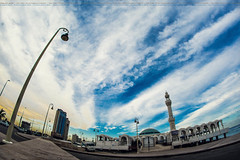 Al-Rahma Mosque |   (dr.7sn Photography) Tags: red sea sky photoshop design nikon dr mosque professional saudi arabia lightroom              rainnig     d7100      drhassan  d5100  eddah  dr7sn  alrhma