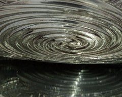 Going in Circles (Robin Penrose) Tags: abstract silver reflections circles vague 201502