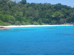 Crystal Clear Blue Water of the Thai Andaman