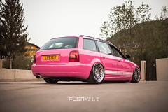 Audi S4 Avant / Porsche 964 (rotiformwheels) Tags: pink wagon european wheels automotive porsche players a4 audi avant lhr 964 blq rotiform rotiformwheels