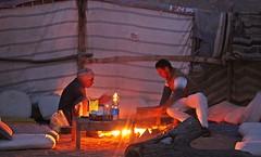 SOUTH SINAI - PREPARING FOOD (Punxsutawneyphil) Tags: food men fire asia asien egypt middleeast bbq arabic egyptian arabia arabian egipto oriental orient feuer bedouins grillen gypten sina hospitality egitto sinai preparing  arabien morgenland beduinen  mittlererosten