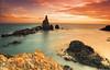 Cabos Gata y Cope. Arrecife de Las Sirenas (jrusca) Tags: test costa beach mar andalucía spain cabo playa murcia gata almería cabodegata mediterráneo a77 sonyalpha lassirenas
