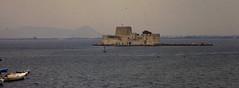Grce, vacances de Pques 1987. Nauplie, fort vnitien de Bourdzi (Marie-Hlne Cingal) Tags: 1987 greece grce  hells  diaponumrise