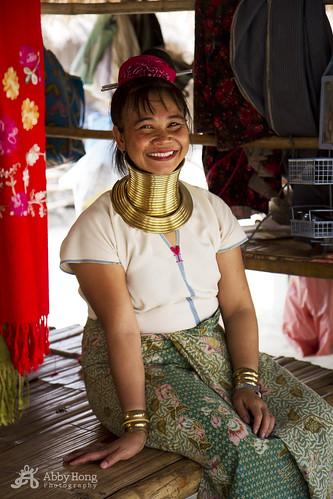 The Long neck Karen (Karen-Padaung) , Thailand 2015