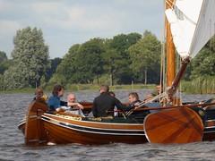 106 RC Neptunus, Goingarijpester poelen, Friesland (Alta alatis patent) Tags: men boat wooden sailing yacht neptunus frisian rc106 goingarijpsterpoelen
