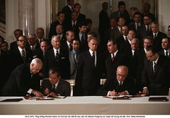 WL002743 (ngao5) Tags: people male men history writing europe european adult russia many moscow president group american soviet document prominentpersons government leader russian groupofpeople signing easterneurope richardnixon treaty secretaryofstate northamerican legaldocument headofstate leonidbrezhnev cabinetofficer governmentofficial politicalleader centralfederaldistrict chairmen largegroupofpeople caucasianethnicity nikolaipodgorny supremesoviet generalsecretaries williampiercerogers easterneuropeandescent alexeikosygin easterneuropeanculture