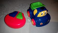 Play... (farrukhathar) Tags: pakistan cute smile car kids fun toy happy joy battery rc lahore powered