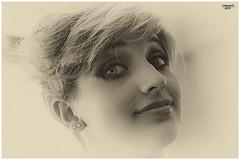 IMG_0499 (colapietrodomenico) Tags: ritratto portrait sguardo sorriso occhi biancoenero
