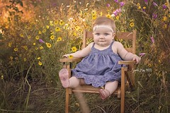 Wildflower Baby (Sarah Mae Photo) Tags: baby girl wildflowers outdoorportrait