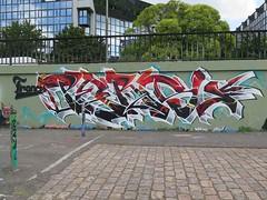 Nantes, Persu by Smerf (Zerbi Hancok) Tags: nantes nantesgraffiti nantesstreetart quaidelaloire quai graffiti graff streetart walls
