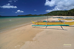 Boats on the Beach (engrjpleo) Tags: nacpanbeach twinbeaches beach elnido palawan philippines sea seascape landscape seaside shore coast water waterscape outdoor travel sand