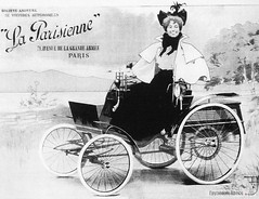 Benz Velo     Socit Anonyme de Voitures Automobiles La Parisienne.      , 1896 . (foot-passenger) Tags:  benz  germany parisienne