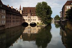 Holiday snapshots - Nürnberg (czerwiony Smãtk) Tags: city germany bayern deutschland bavaria europa europe cityscape nürnberg pegnitz bawaria niemcy norymberga tamronspaf2875mmf28xrdildasphericalif canoneos6d