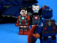 You're Tearing the Avengers Apart (MrKjito) Tags: man accords america germany airport war iron lego machine battle civil captain minifig marvel universe cinematic