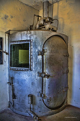 Wyoming Frontier Prison in  Rawlins (Pattys-photos) Tags: wyoming frontier prison rawlins gas chamber